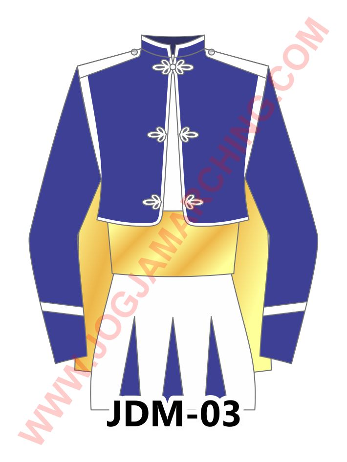 baju marching band M03