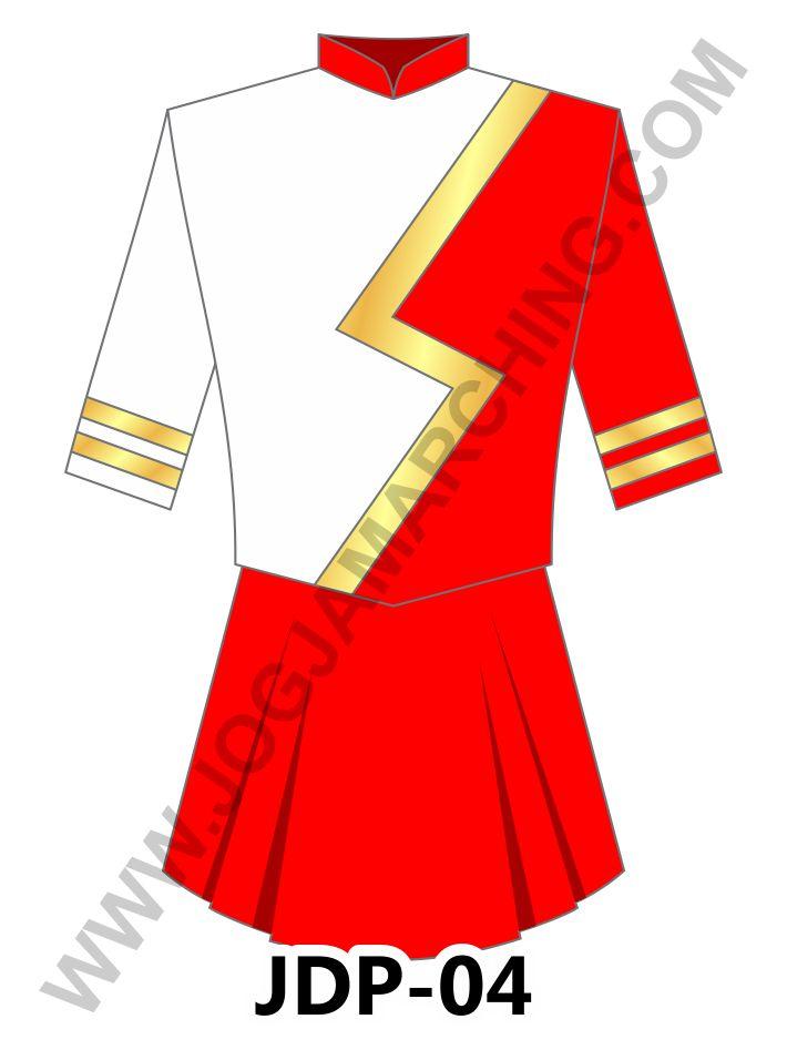 pakaian drumband wanita P04