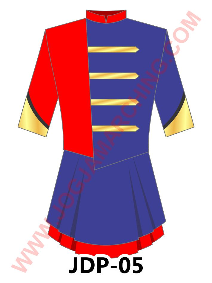 seragam marchingband wanita P05